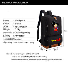 Dragon Ball Z Backpack - DBZ Deluxe Student Bag