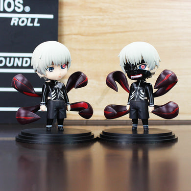 Tokyo Ghoul Kaneki Ken With Mask PVC Figure Dolls (Includes 2 FIGURES)