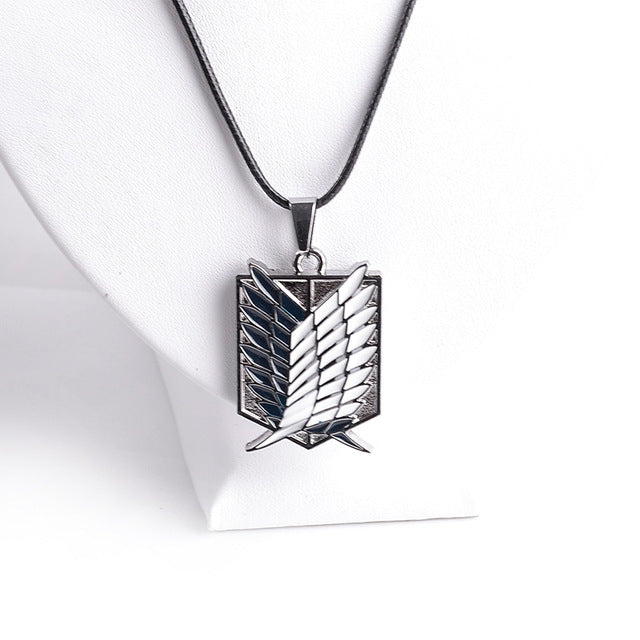 Attack on Titan 4 Corps Logo Pendants