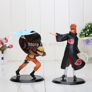 Naruto Uzumaki VS Pain PVC Action Figures (Includes 2 Figures!)