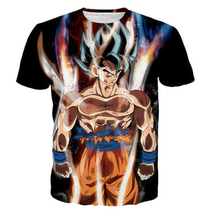 3D Dragon Ball Z Ultra Instinct Son Goku Super Saiyan