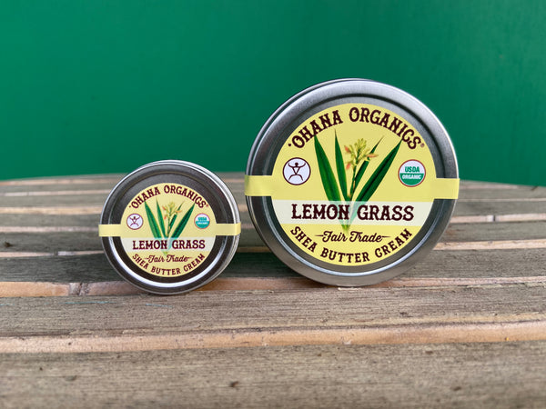 Shea Butter Cream - Lemon Grass - case