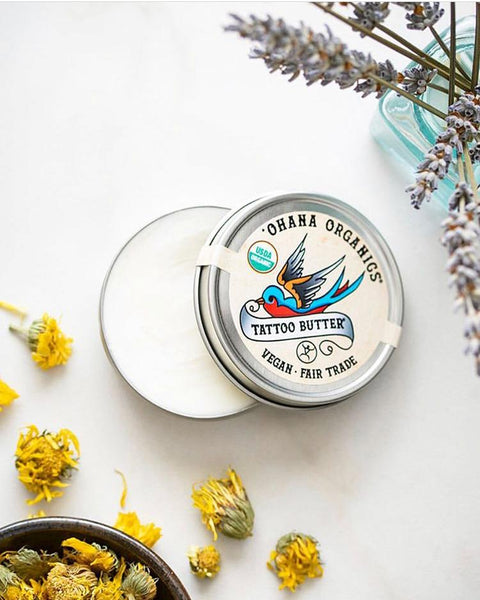 Organic, Vegan Tattoo Butter
