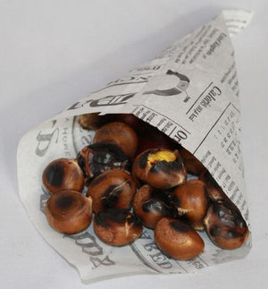 New Tradition Chestnut Roasting Pack with 1 lb of Fresh Chestnuts