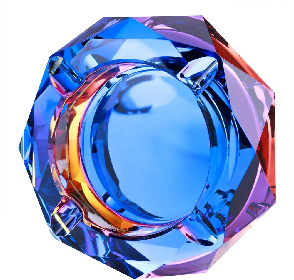Crystal Ashtray [Blue]