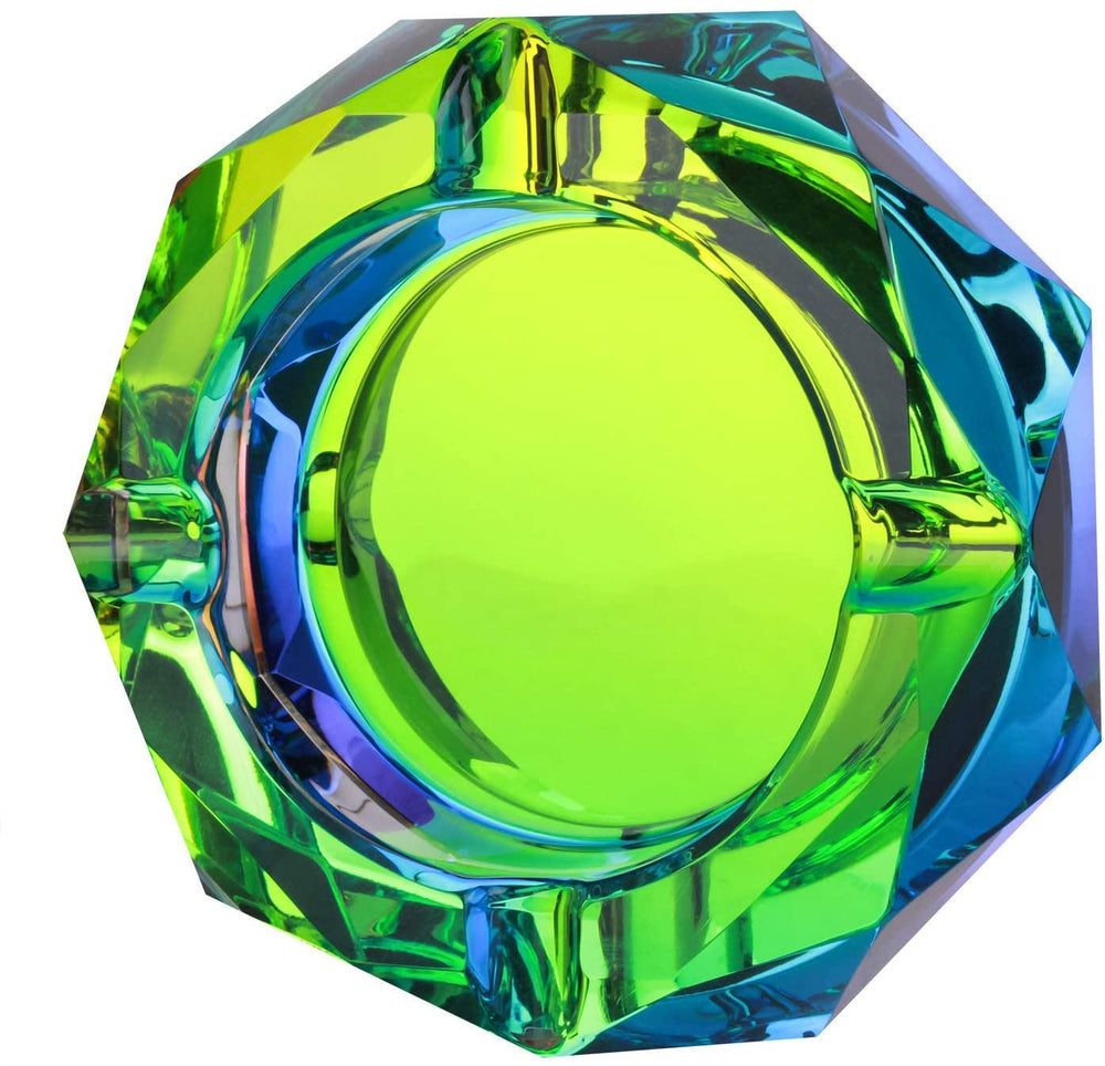 Crystal Ashtray [Green]