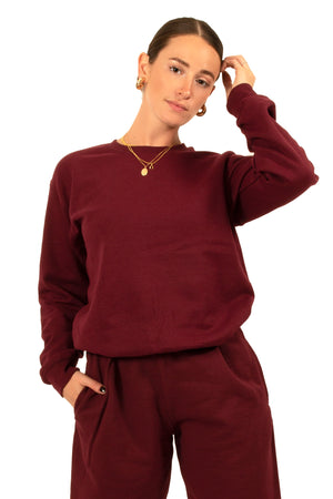 Maroon Anywhere Crewneck