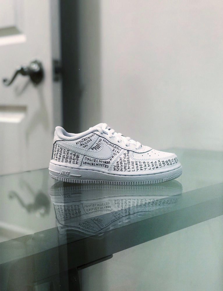 LK Custom Nike AF1 Low [Kids/Toddler]