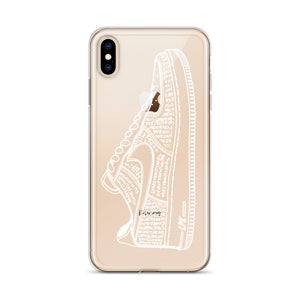 AF1 Illustration iPhone Case