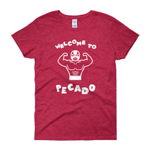 Welcome to Pecado - Short Sleeve Women's T-shirt