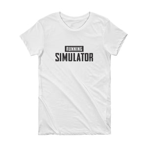 Running Simulator - Short Sleeve Women's T-shirt