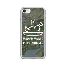 Winner Winner Chicken Dinner Map - iPhone Case