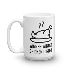 Winner Winner Chicken Dinner - Mug