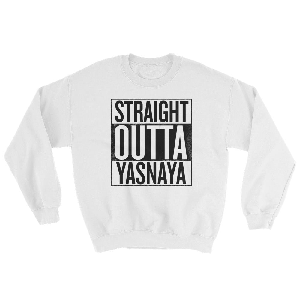 Straight Outta Yasnaya - Sweatshirt White