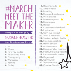 #March Meet The Maker Challenge