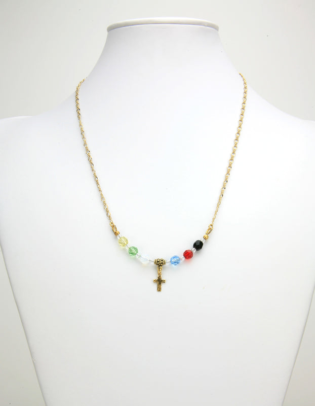 Salvation Gold Chain Necklace