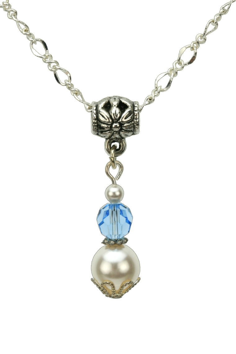 drop products necklace product the image birthstone march aquamarine tee