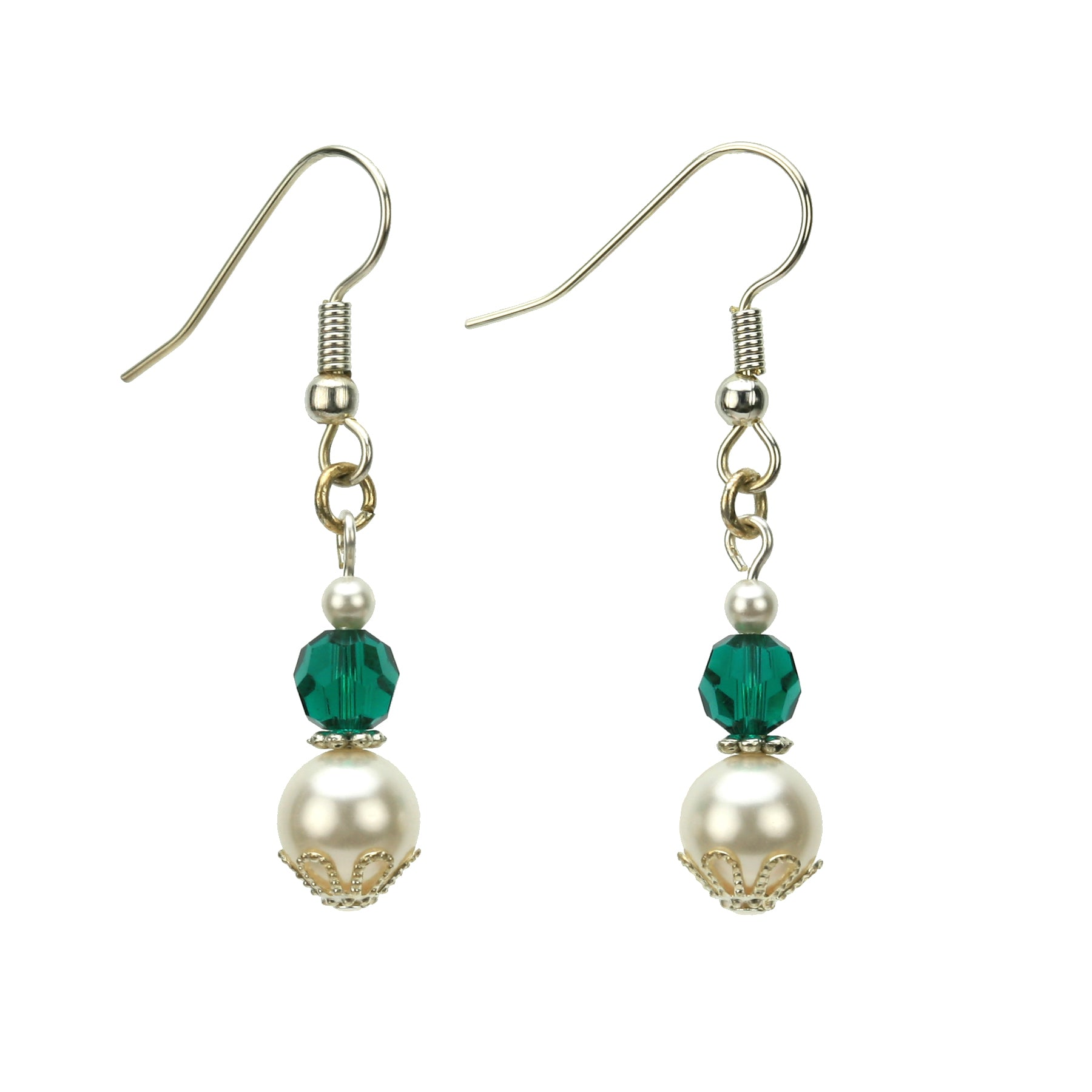 double swarovski birthstone earrings products cpay emerald silver may