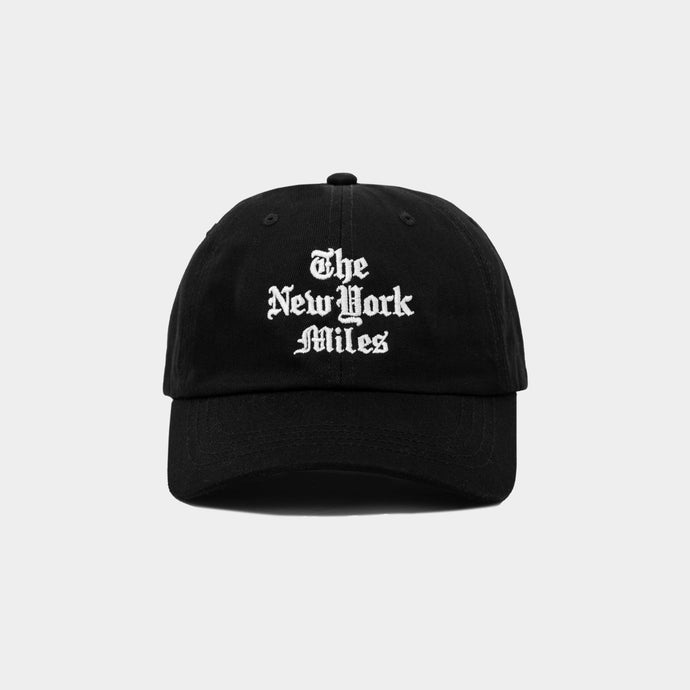 New York Miles Hat – Black