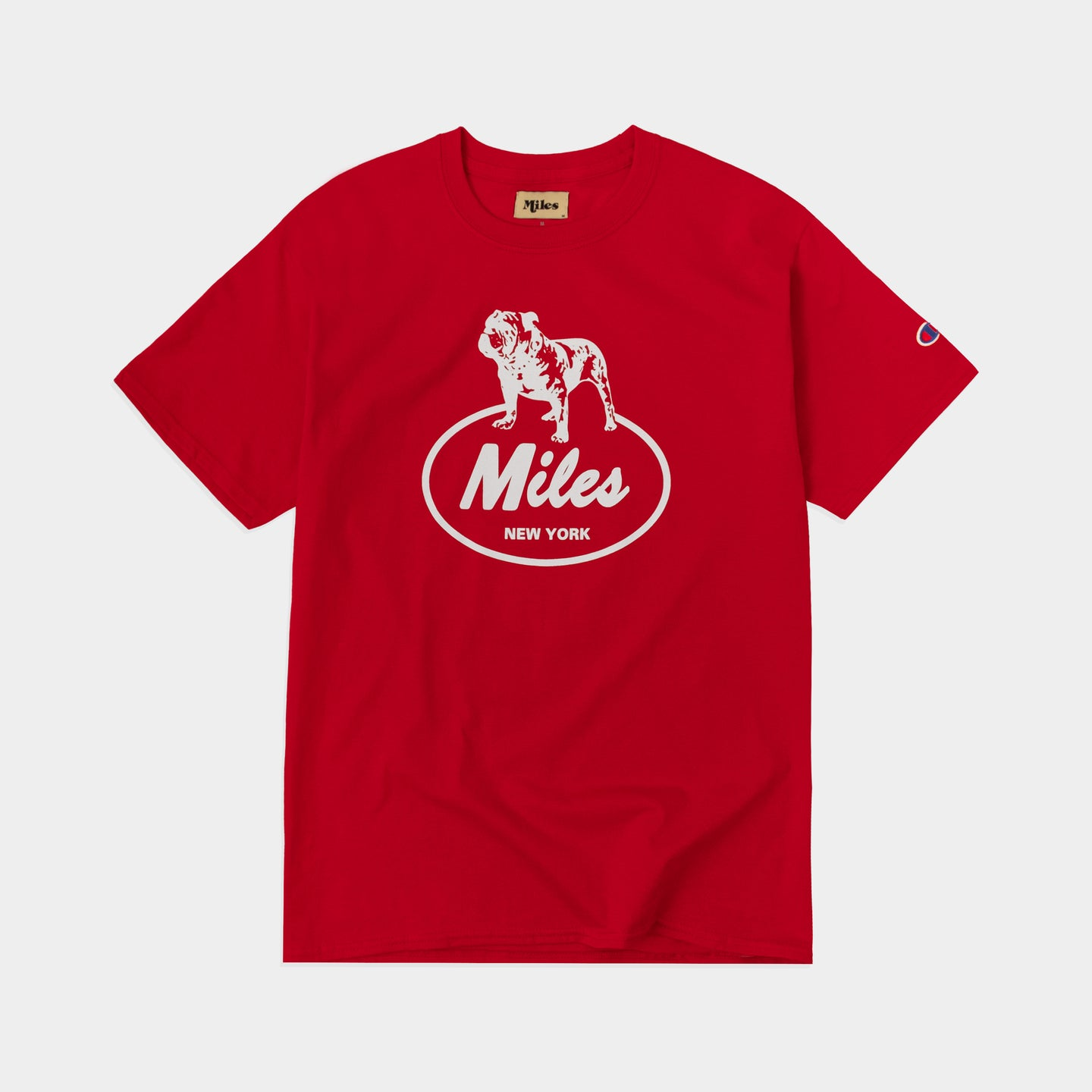 Bulldog T-shirt – Red