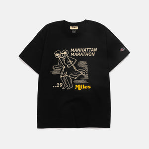 Manhattan Marathon T-Shirt – Black