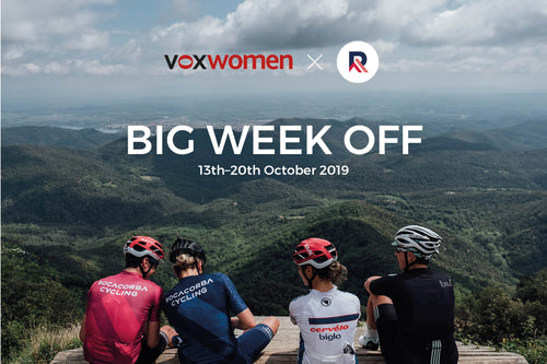 Voxwomen Big Week Off 13th-20th October 2019 - secure your place deposit