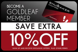Shumaker Goldleaf Membership saves 10%