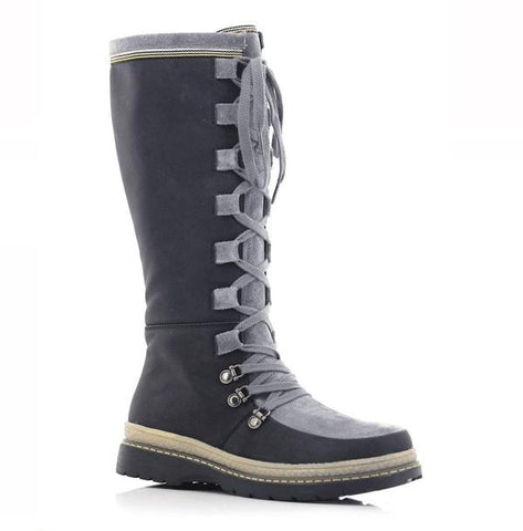 Ladies Lace Up black boots at Shumaker by OrthoSolutions
