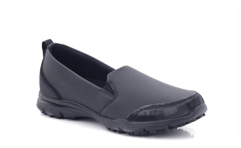 Women's slip on work shoes. Oil-resistant, anti-slip working shoes.