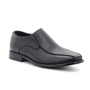 Stepwel Men's Slip-on Ankle Loafers-STEPWEL-Shumaker Shoes