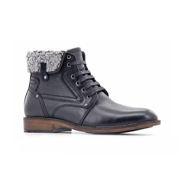 Stepwel Mens Lace-up Ankle Boots