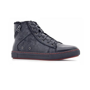 27130-MEN BOOTS-STEPWEL-Black-40-Shumaker Shoes