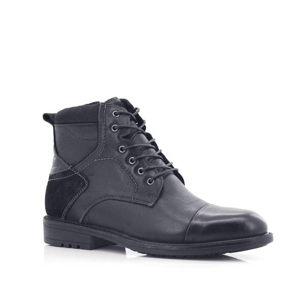 Stepwel Men Lace-up Ankle Boots