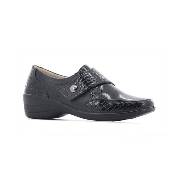 Stepwel Ladies Velcro Monte Shoes
