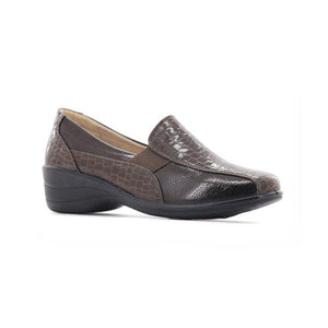 Stepwel Ladies Slip-on Ankle Shoes-STEPWEL-Shumaker Shoes