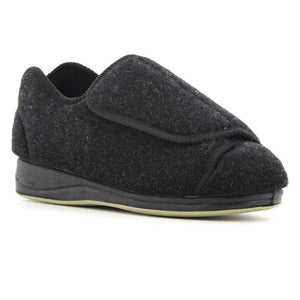 4096 Black COZY N COMFY LADIES SLIPPERS at Shumaker