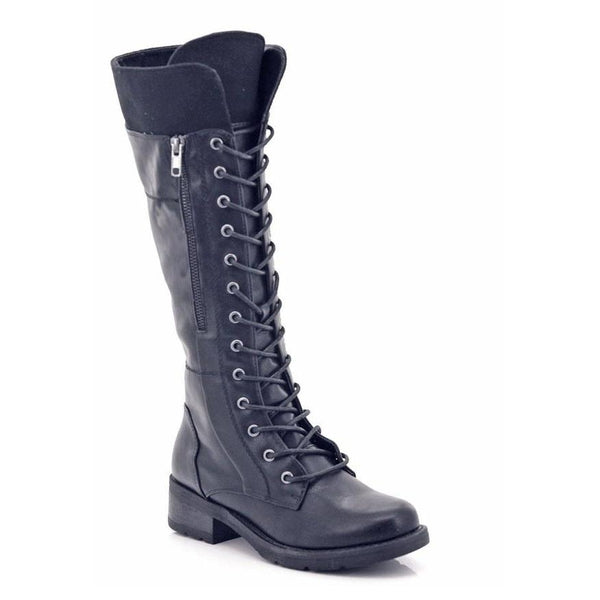 Comfort Zone Ladies Lace-up Calf Round Toe Boots