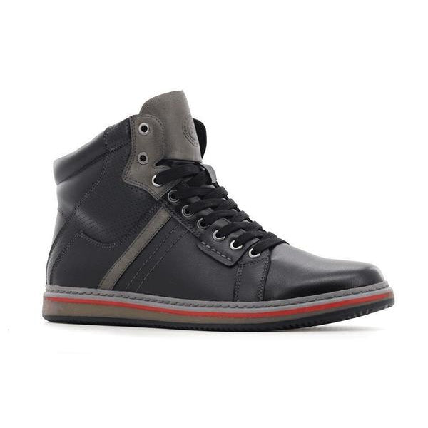 Stepwel Mens Zipper Sneaker Boots