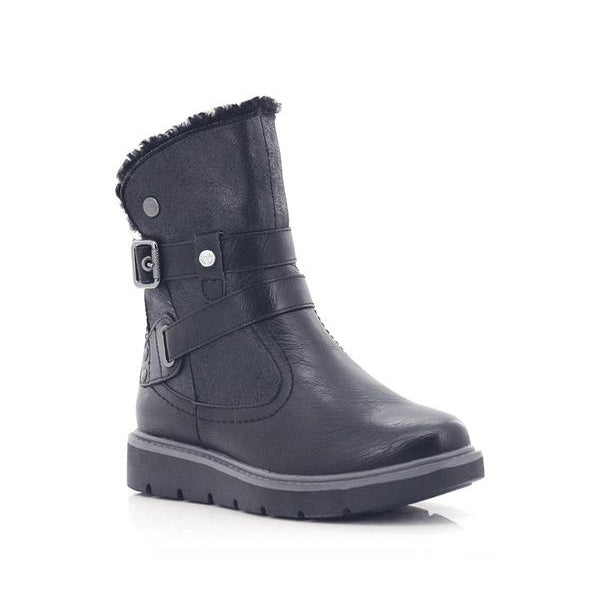 Fjord Ladies Buckle High Ankle Sutton Boots