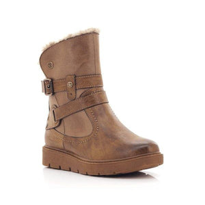 Fjord Ladies Buckle High Ankle Sutton Boots-FJORD-Shumaker Shoes