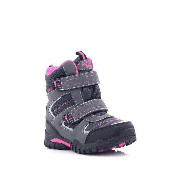 Itsy Bitsy Girls Velcro Ankle Waterproof Boots