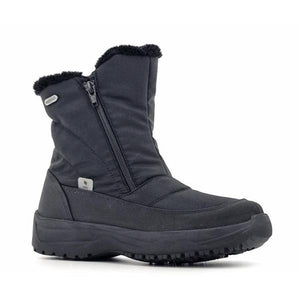 Fjord Ladies Zipper Ankle Waterproof Boots-FJORD-Shumaker Shoes