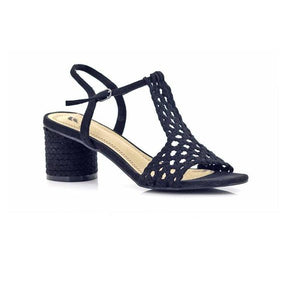 CZ31 Black FJORD LADIES SANDALS at Shumaker