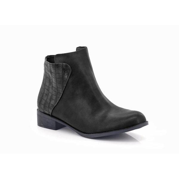 Lolla-bacchi Ladies Velcro Cut-out Patterened Boots