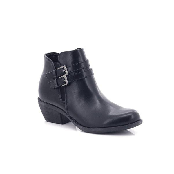 Lolla-bacchi Ladies Double Buckle Solid Boots