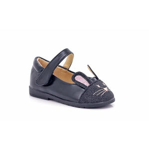 Jack-N-Jill Girls Velcro Cat Shoes-JACK N JILL-Shumaker Shoes