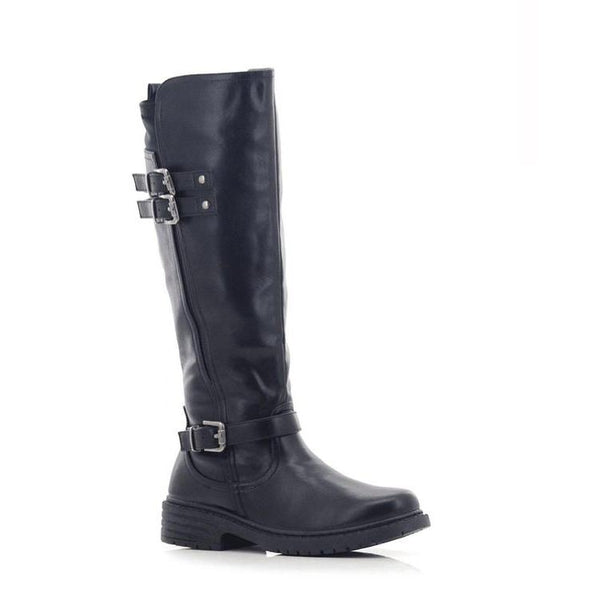 Lolla-bacchi Ladies Triple Buckle Calf Hardy Boots