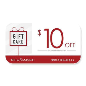 Shumaker Gift Card-Shumaker Shoes-Shumaker Shoes