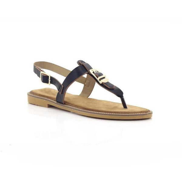 Bellasiba Ladies Buckle Light T-strap Jelly Sandals