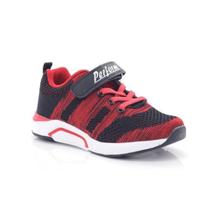 Perform Boys Lace-up Velcro School Hiking Shoes-PERFORM-Shumaker Shoes